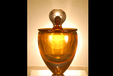 Wing Gold >> Mariusz Glass Art Blowing in Seattle Washington - 2011-2006 Collections