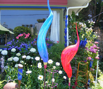Wonderful Bird Garden Art