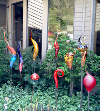 Beau Ball Garden Art